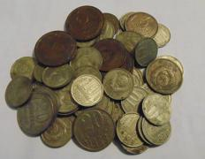 Coins of the USSR 61 coin one lot