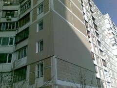 Insulation of facades in Dnepropetrovsk