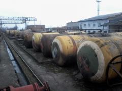 Sale (used) railway tanks, boiler, capacity m